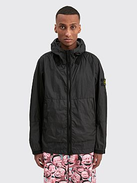 Stone Island Membrana 3L GD Hooded Jacket Black