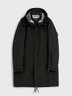 Stone Island Shadow Project Gore-Tex Paclite Semi Lined Coat Black