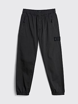 Stone Island Ghost Satin Pants Black