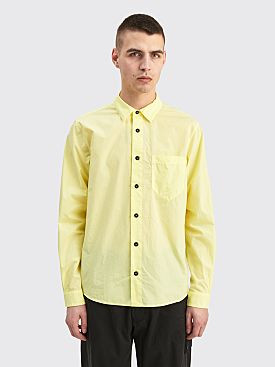 Stone Island LS Shirt Lemon