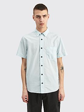 Stone Island Short Sleeve Shirt Sky Blue