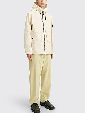 Stone Island Micro Reps Hooded Jacket Ivory