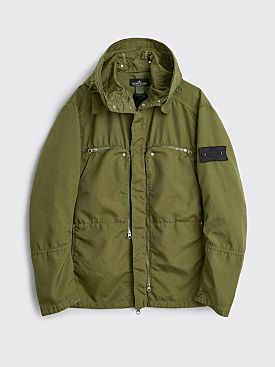 Stone Island Shadow Project Vented Field Jacket Olive Green