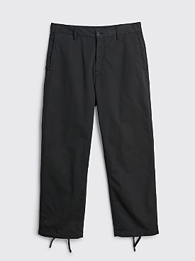Stone Island Shadow Project Straight Pants Black
