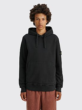 Stone Island Hooded Sweatshirt Black
