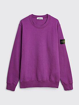 Stone Island GD Classic Sweatshirt Magenta