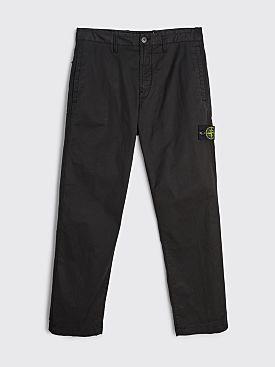 Stone Island GD Cotton Pocket Pants Black