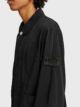 Stone Island Shadow Project Workwear Nylon Twill Jacket Black