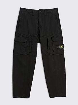 Stone Island Badge Cargo Pant Black