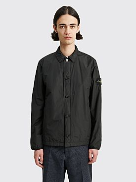 Stone Island Primaloft Button Overshirt Black