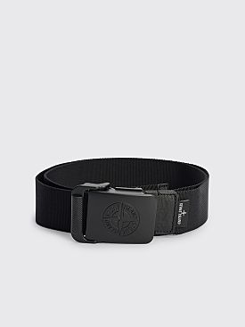 Stone Island Nylon Tape Belt Black
