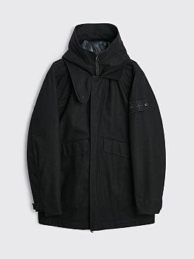 Stone Island Ghost Piece Down Jacket Black