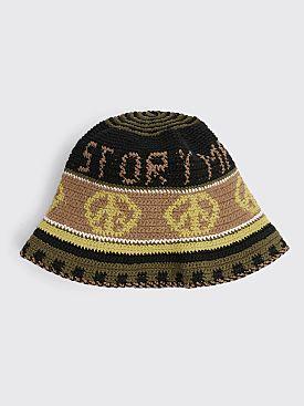 STORY mfg. Brew Hat Peace Power Black