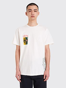 Stüssy Masks Pigment Dyed T-shirt Natural