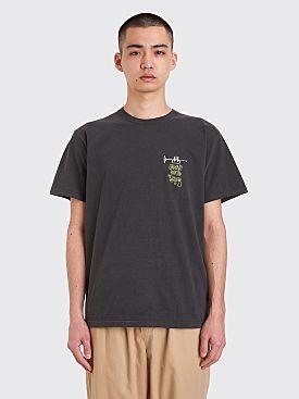Stüssy Groove Beats Pigment Dyed T-shirt Black