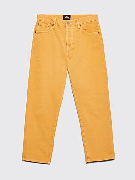 Stüssy Overdyed Big Ol' Jeans Lemon