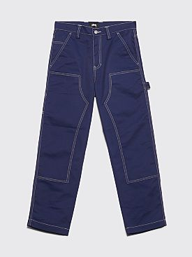 Stüssy Poly Cotton Work Pant Navy