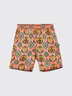 Stüssy Shield Shorts Peach