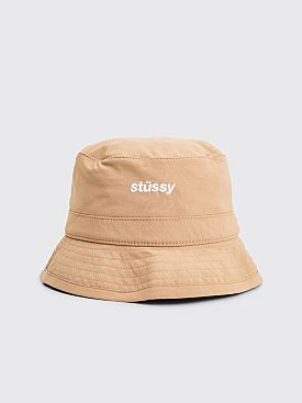 Stüssy Bungee Bucket Hat Tan