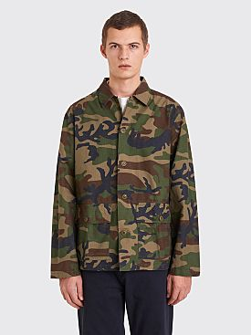 Stüssy Military Overshirt Camo Green