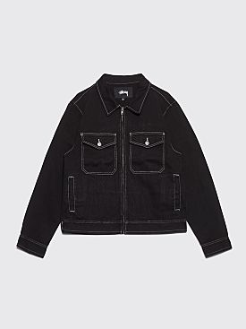 Stüssy Overdyed Garage Jacket Black