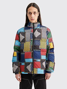 Stüssy Puffer Patch Jacket Multi Color
