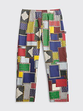 Stüssy Patchwork Cord Beach Pants Multi Color