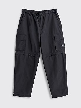 Stüssy Zip Off Cargo Pants Black