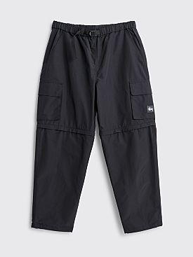Stüssy Zip Off Cargo Pants Black