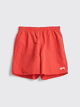 Stüssy Stock Water Shorts Red