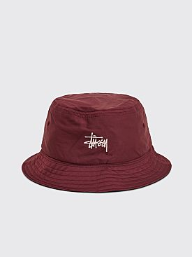 Stüssy Reversible Bucket Hat Berry / Black