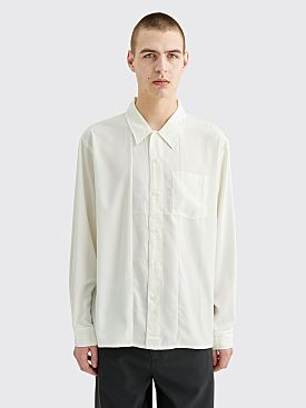 Stüssy Satin Shirt White