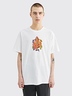 Stüssy Ganesh Logo T-shirt White