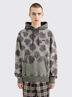 Stüssy Crystal Wash Hooded Sweatshirt Black