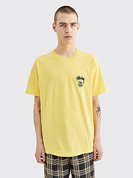Stüssy Stock Link T-shirt Yellow