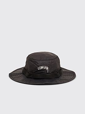 Stüssy 2Tone Nylon Boonie Hat Black
