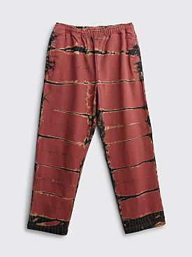 Stüssy Rip Dye Beach Pants Brick