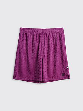 Stüssy Soccer Shorts Purple