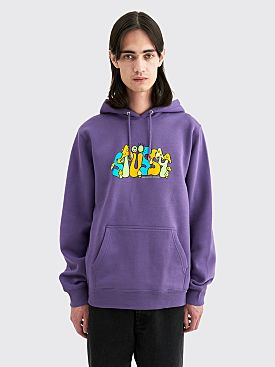 Stüssy Colorado Hooded Sweatshirt Purple