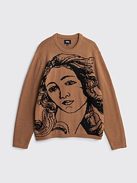 Stüssy Venus Sweater Brown