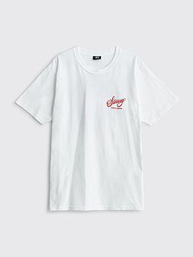 Stüssy Bottlecap T-shirt White