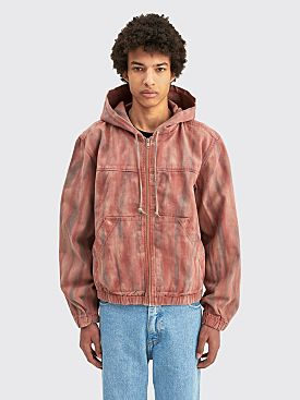 Stüssy Dyed Work Jacket Rust