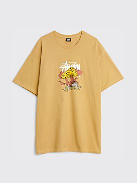 Stüssy Something's Cookin' T-shirt Khaki