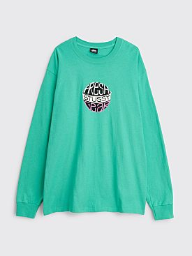 Stüssy Fresh Gear Ls T-shirt Green