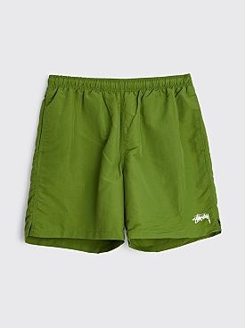 Stüssy Stock Water Shorts Green