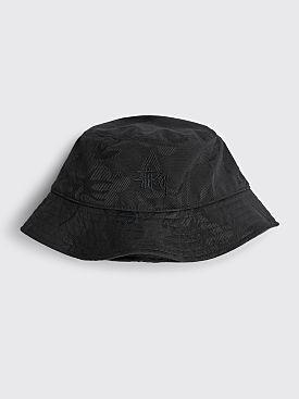 Stüssy Jacquard Hawaiian Bucket Hat Black
