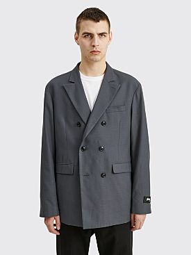 Stüssy Double Breasted Jacket Grey