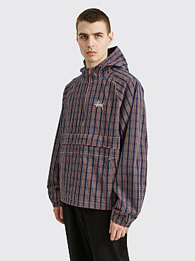 Stüssy Brushed Cotton Anorak Plaid