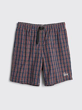 Stüssy Brushed Cotton Mountain Short Plaid