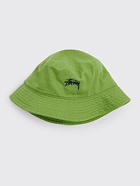 Stüssy Stock Bucket Hat Leaf